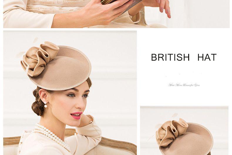96c73ea715e71 3 Wool Felt Fedora British Hats