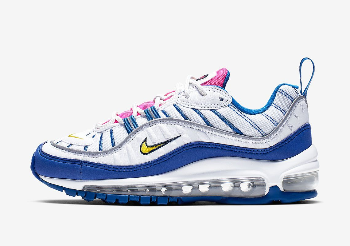 huge discount bace9 7913d The Nike Air Max 98 Arrives In A Vibrant GS Colorway