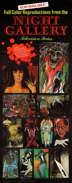70+ Best Paintings from Serling's Night Gallery images | night gallery, night art, gallery