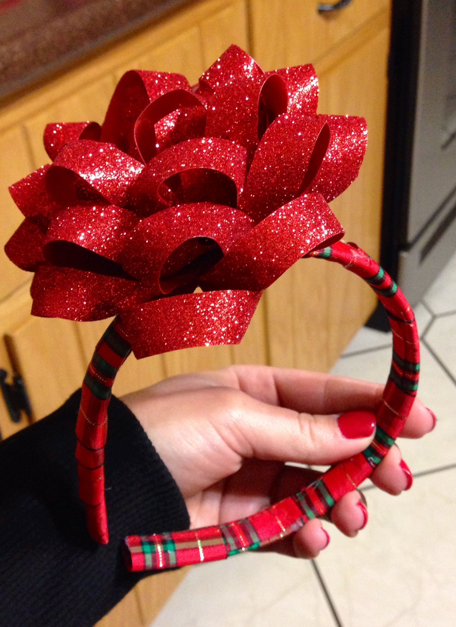 girls headbands rhinestones headbands Christmas headbands Christmas gifts ideas