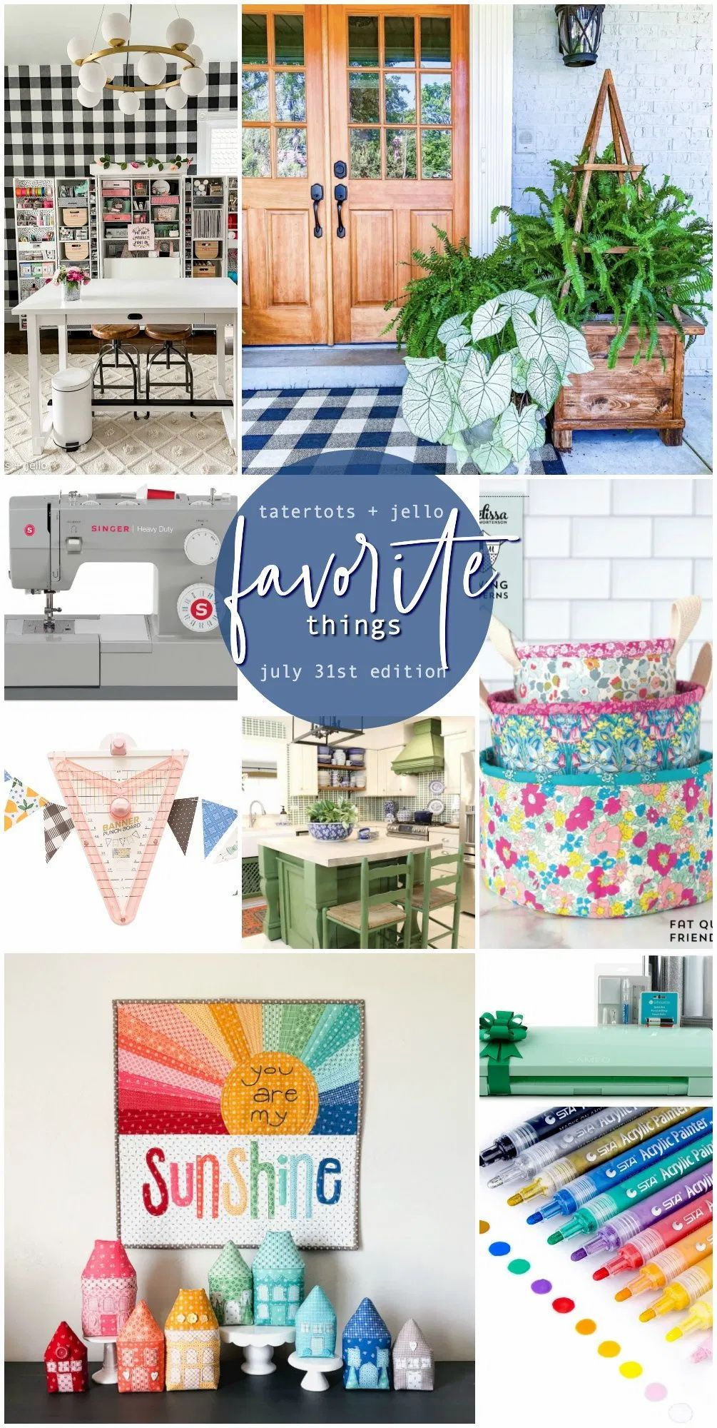 Favorite Things of the Week! I'm sharing my favorite projects, finds and what is making me smile this week!