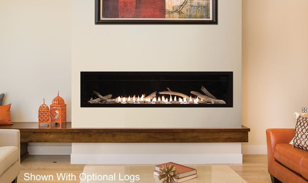 Empire 60 Inch Boulevard Vent Free Linear Fireplace Vflb60 With