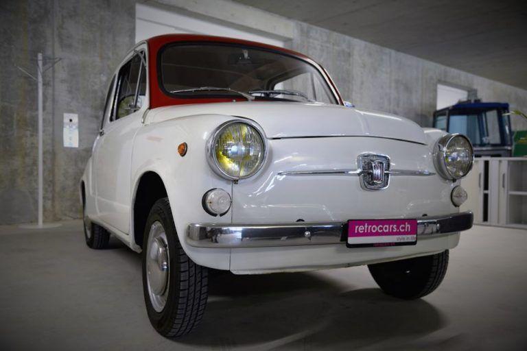 retrocars.ch Fiat 500 F, L, D - Oldtimer on orderRetrocars