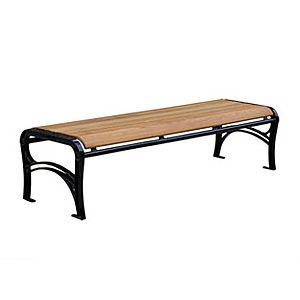 The Online Architecture Exhibition Contemporary Outdoor Benches Iron Bench Plastic Lumber