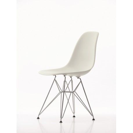 Buy Vitra Eames Plastic Chair Dsr Old Colours By Charles Ray Eames 1950 Eames Plastic Chair Vitra Chair Side Chairs Dining