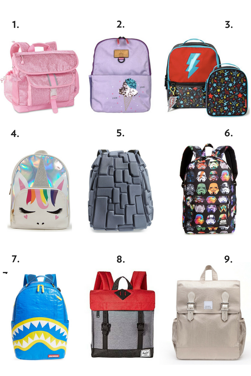 f91aa18cd55c An awesome backpack is your kids  number one back to school accessory and  we rounded up some of our favorites on the BCBlog.