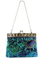 Peacock purse design