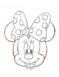 Image Result For Latwe Rysunki Do Narysowania Olowkiem Kwiaty Minnie Mouse Drawing Disney Drawings Mouse Sketch