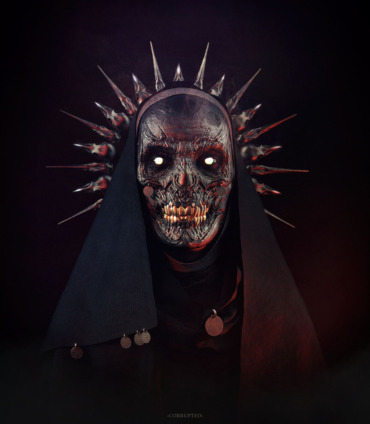 evil stuff image by Darren Hutcherson Masks art, Macabre
