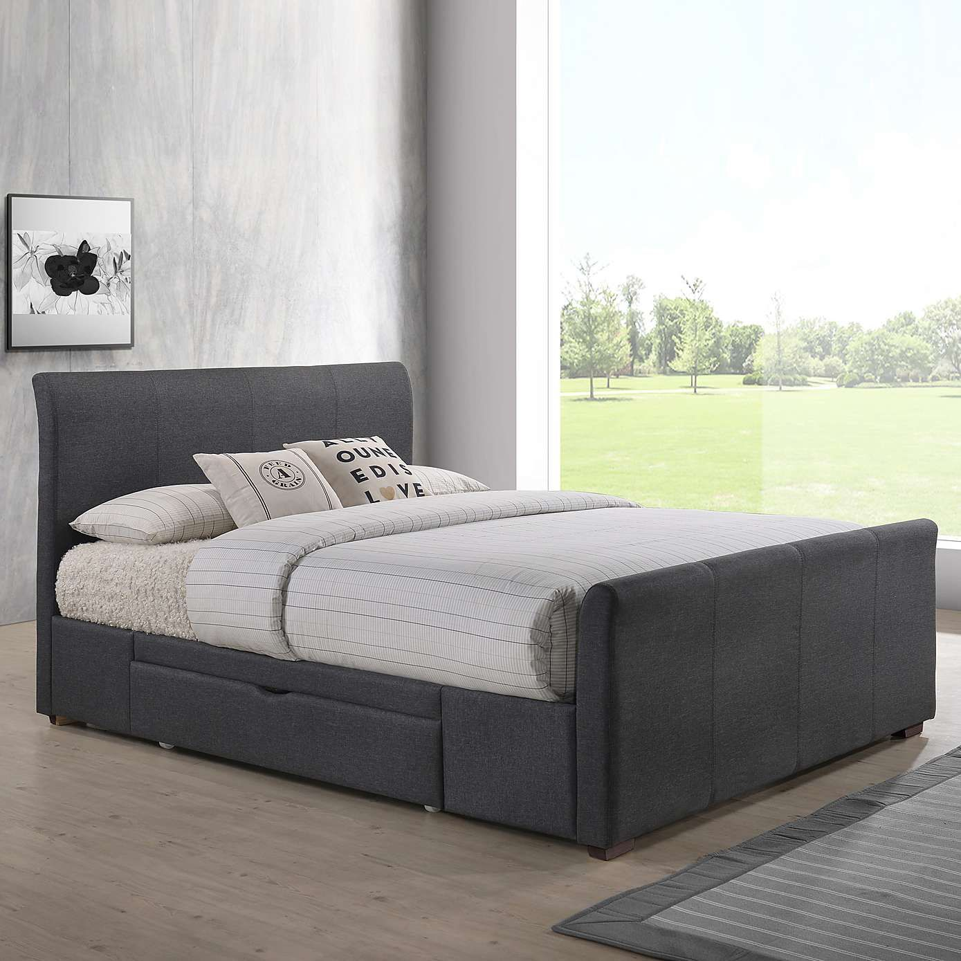 Happy New Year From The Better Bed Company See The Latest Bed Frames All For Free Delivery And With Sale Prices This January Bedfra In 2020 Bed Frame Fabric Bed Bed