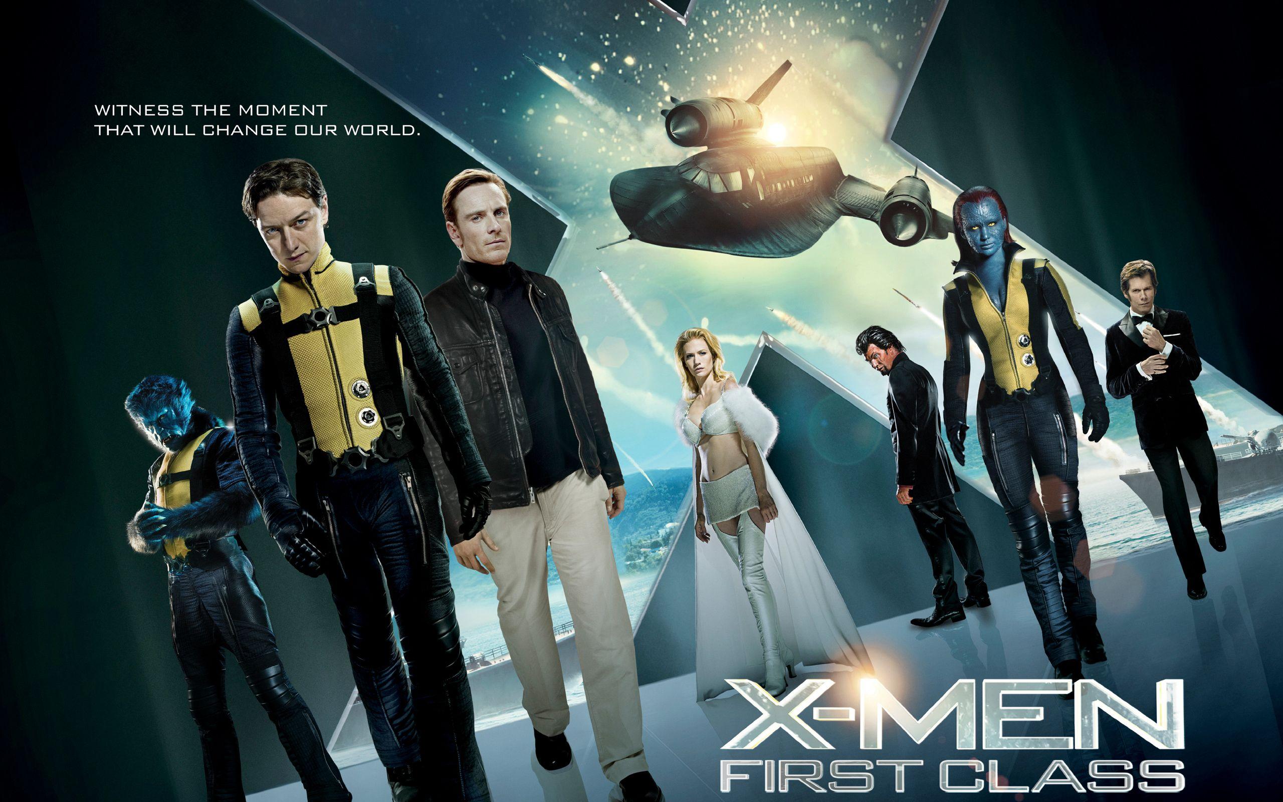 Film Review X Men First Class X Men 2011 Movies Class Poster