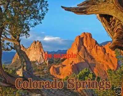 Colorado MESA VERDE National Park Travel Souvenir Flexible Fridge Magnet