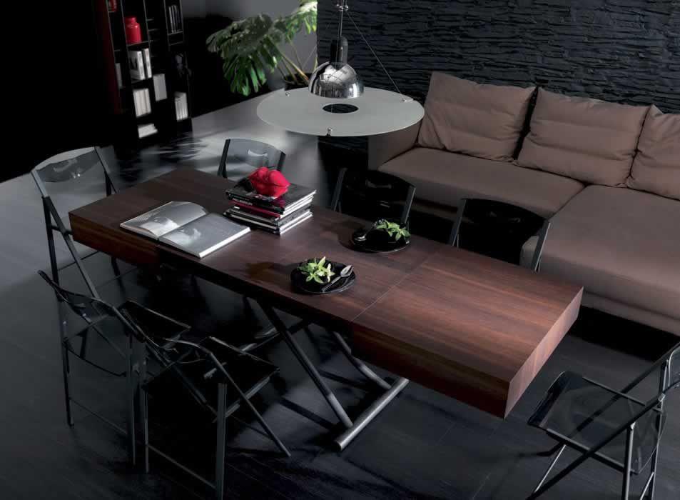 Tavoli trasformabili e allungabili sedie moderne sgabelli design