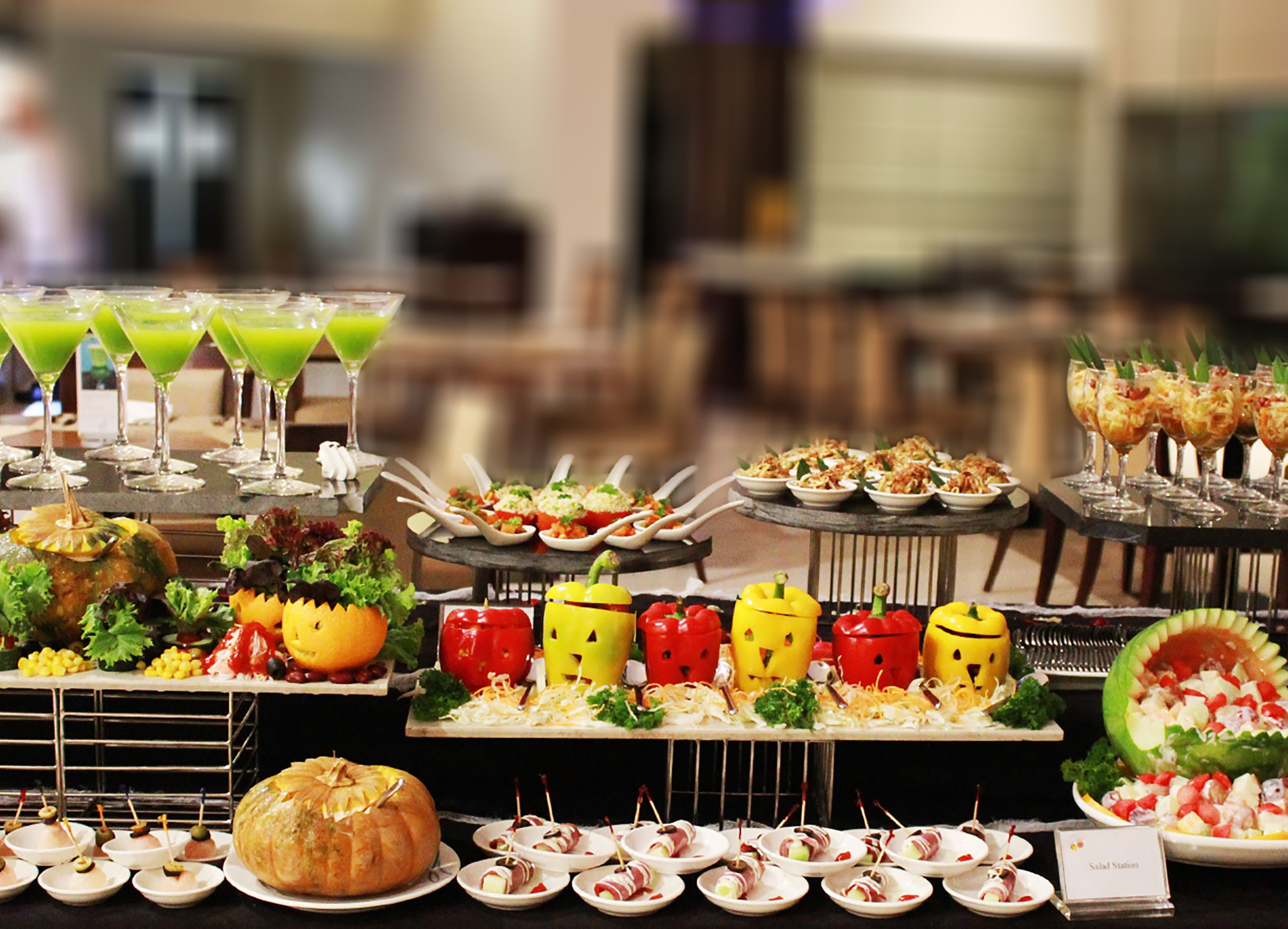 Halloween Party Buffet Dinner Try The Best Kacang Ayu 1kg By Bali And Join At Kembang Goyang Restaurant For Idr 20800 Net Per Pax
