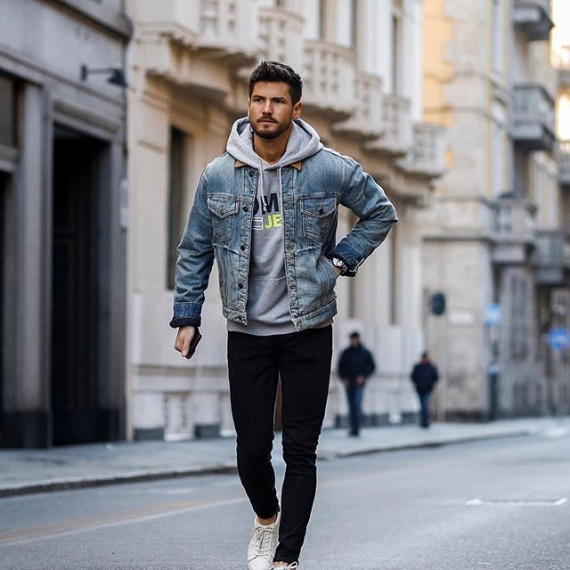 Super Hot 2019 Mens Casual Outfits Winter Outfits Men Hoodie Outfit Men