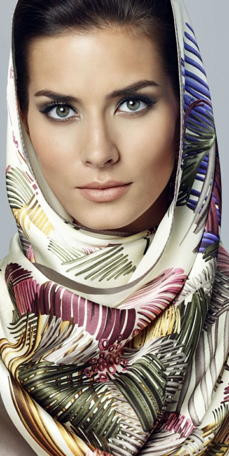 Head scarf image by Laura Araujo on HER CROWNING GLORY