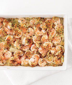 Photo of Garlicky Baked Shrimp Recipe