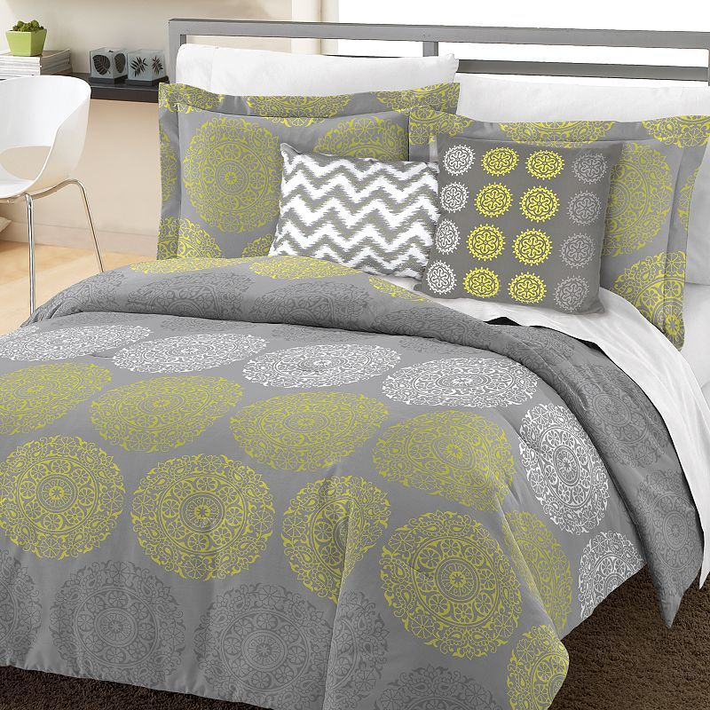 Simple by Design Medallion 8-pc. Bed Set - XL Twin ...
