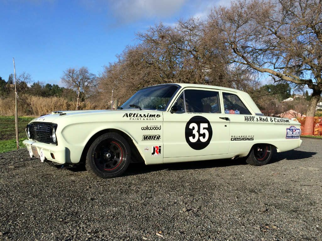 1961 Ford Falcon Rally Car By Hill S Rod Custom Mike Maier Inc Mmi Ford Falcon Rally Car Old Race Cars
