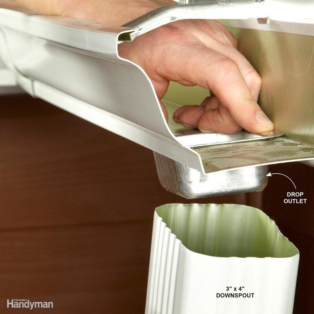 Easy Gutter Fixes Gutters, Gutter repair, How to install