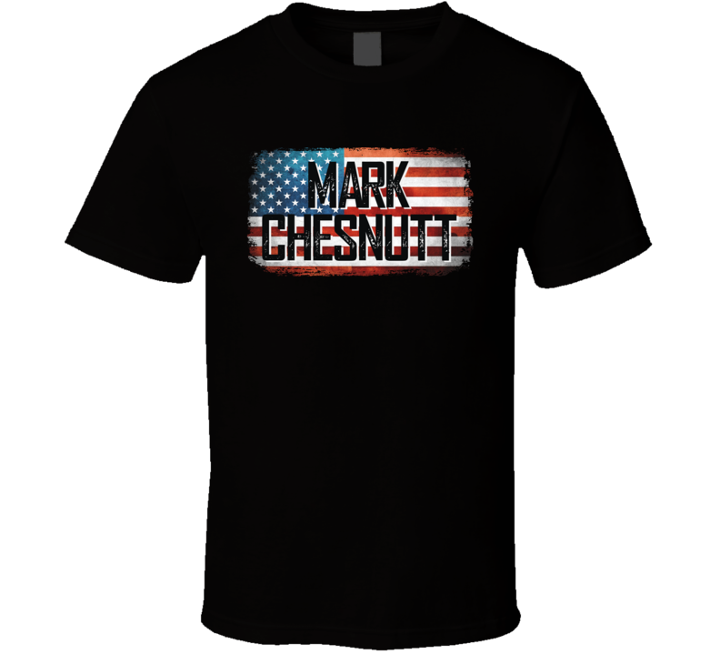 Mark Chesnutt American Pride Country Music Concert Fan T Shirt