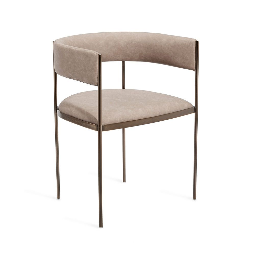 Ryland Dining Chair Taupe Dining Chairs Upholstered Dining
