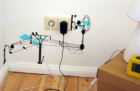 Electronic chaos vinyl wall stickers algunas ideas que podemos hacer a tu hogar o negocio