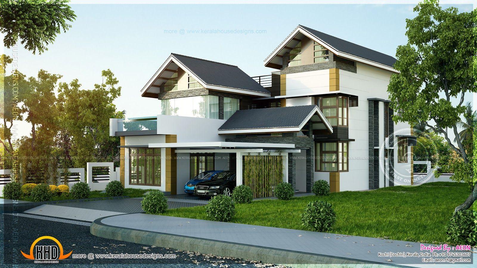 Kerala Sloping Roof Villas - Google