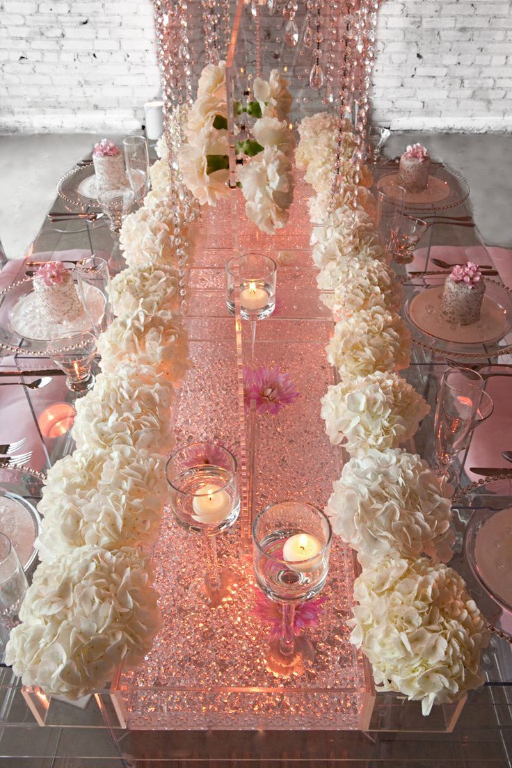 pics of funky, unique tablescapes for baby showers | Wedding Tablescape & Reception Décor