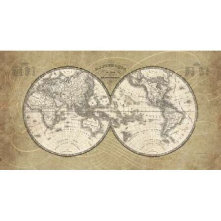 French world map canvas art sue schlabach 12 x 18 canvases french world map canvas art sue schlabach 12 x 18 canvases walmart and products gumiabroncs Images