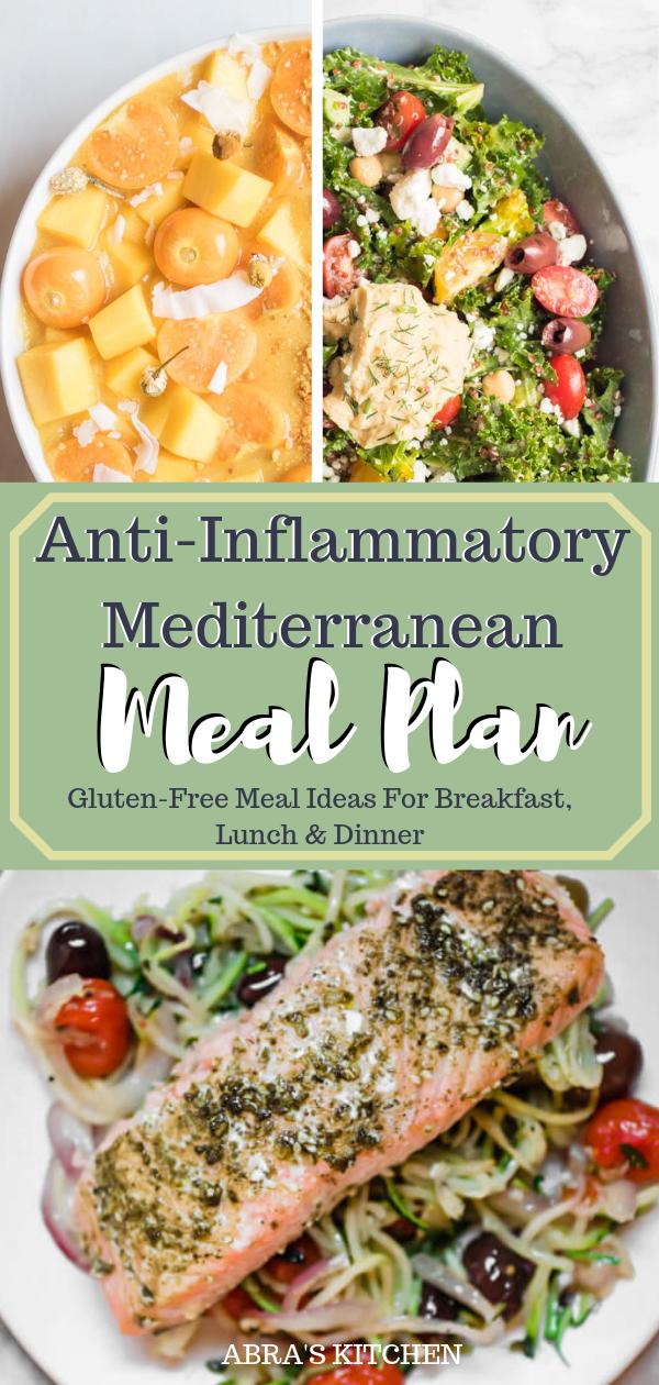 Anti Inflammatory Mediterranean Meal Plan Mediterranean Diet Recipes Breakfast Easy Mediterranean Diet Recipes Mediterranean Diet Meal Plan
