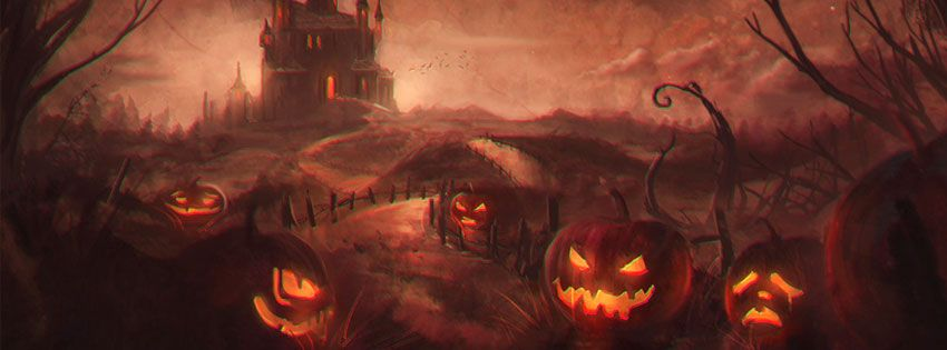 Awesome Facebook Cover With Images Halloween Facebook Cover