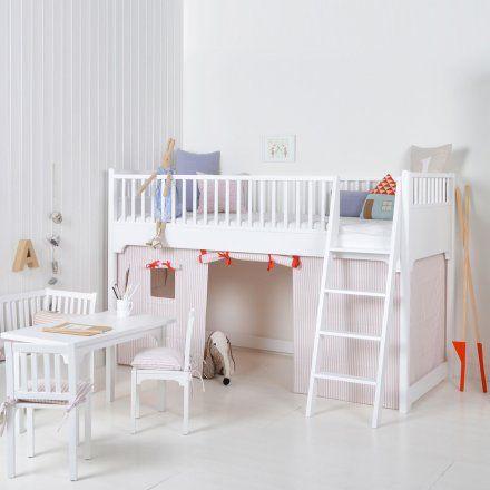 Oliver Furniture Cortina Para Litera Bajo Litera Seaside