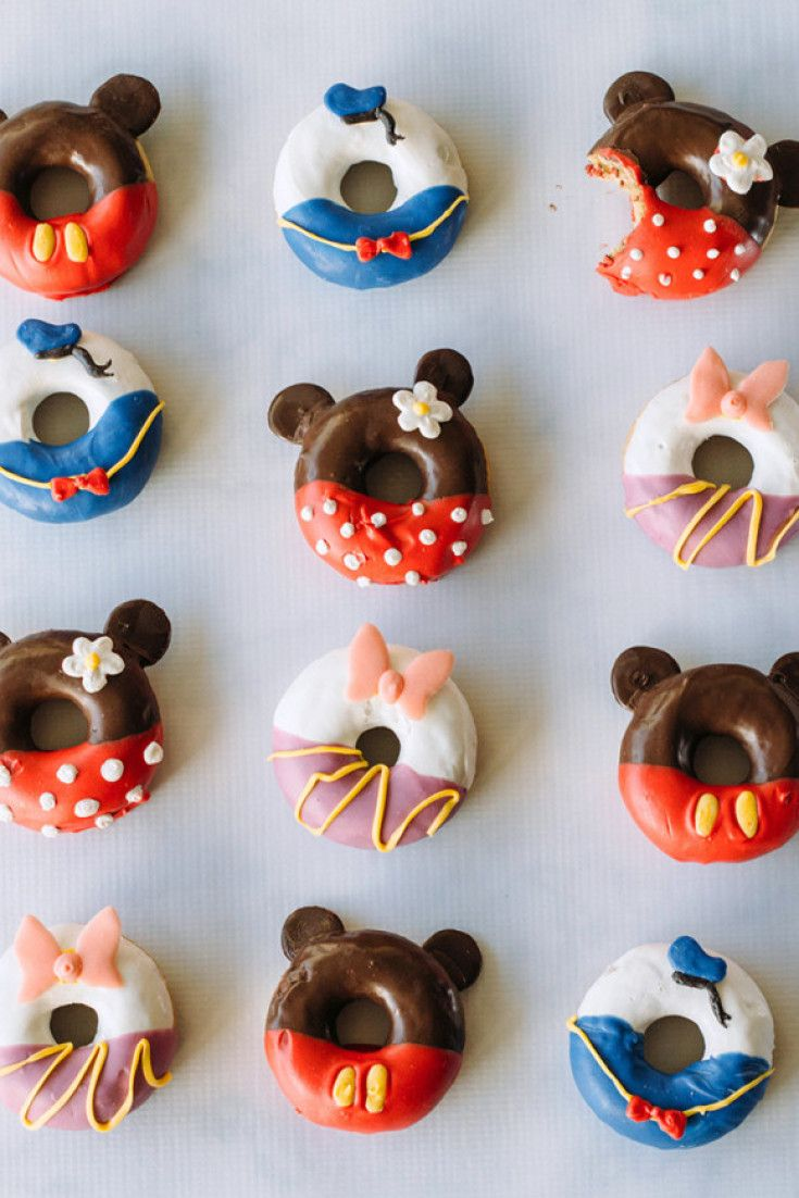 Disneys new Mickey Mouse doughnuts are almost too pretty to eat picture
