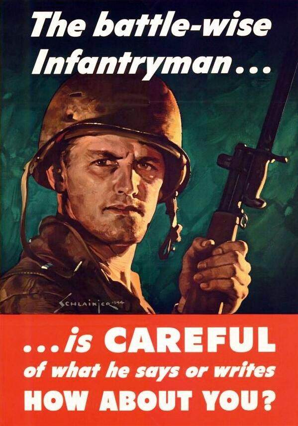 Operational Security Security For Preppers Pinterest Wwii