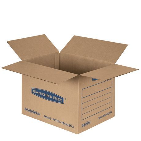 Fellowes Bankers Box Smoothmove Classic Moving Boxes Small 15 Pk