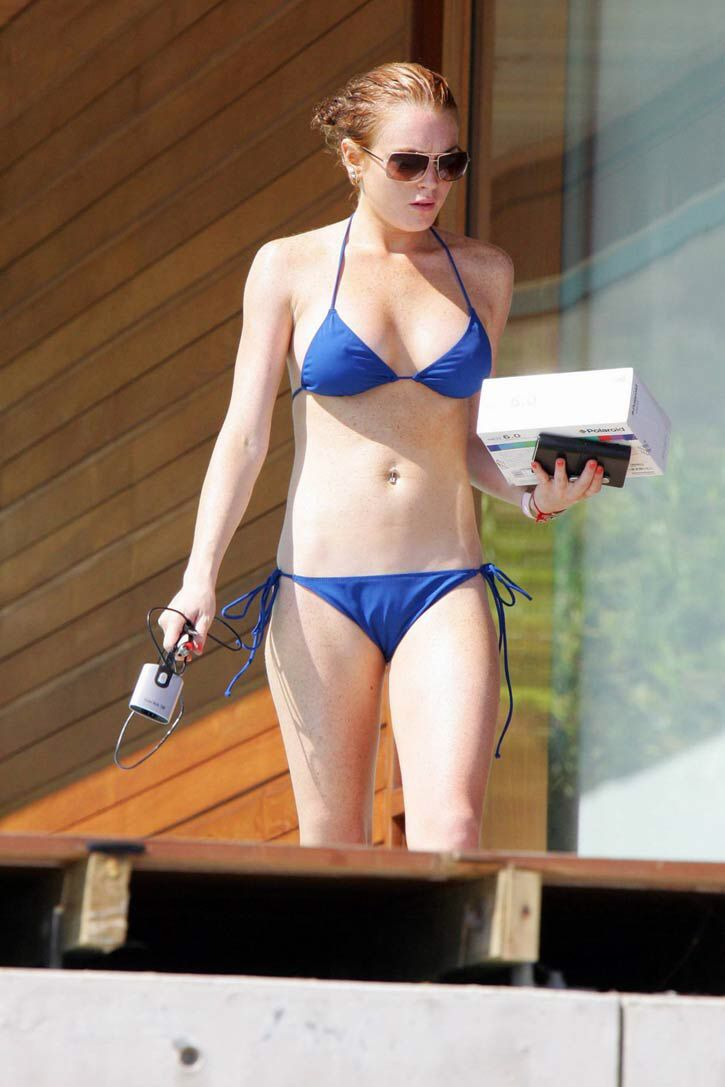 Bikini Blue Lindsay Lohan