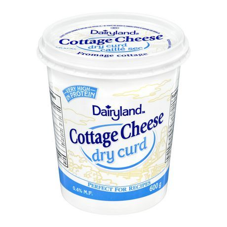 dairyland dry curd cottage cheese 600 g available from walmart rh pinterest com where to purchase dry curd cottage cheese where to buy dry curd cottage cheese near me