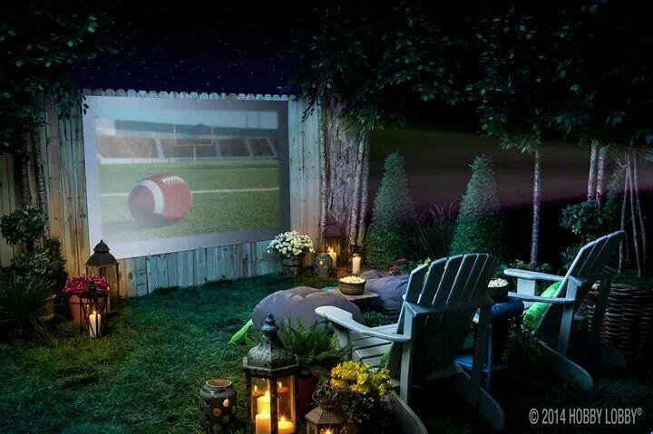 Official Hobby Lobby On Twitter Backyard Movie Nights Backyard Backyard Movie