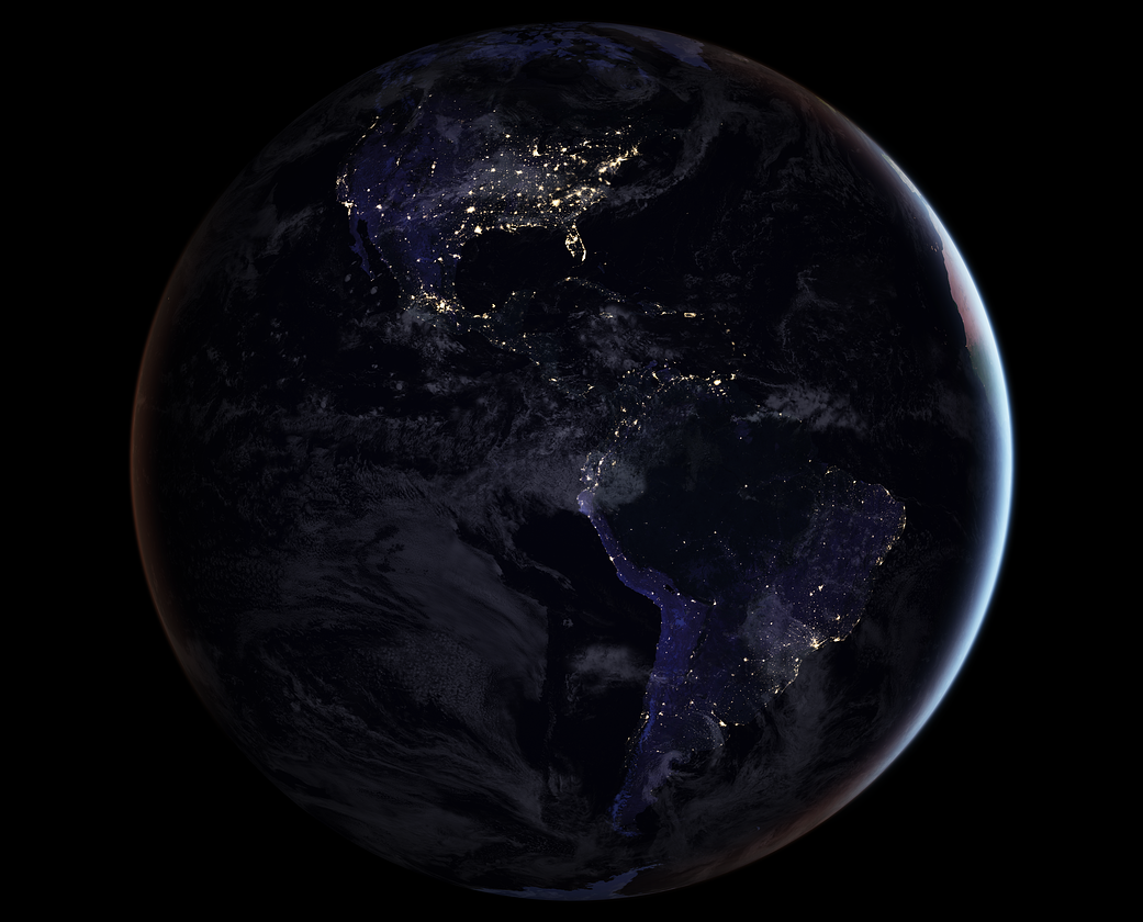 New Full-hemisphere Views of Earth at Night NASA scientists have released new global maps of Earth at night, providing the clearest yet composite view of the patterns of human settlement across our...