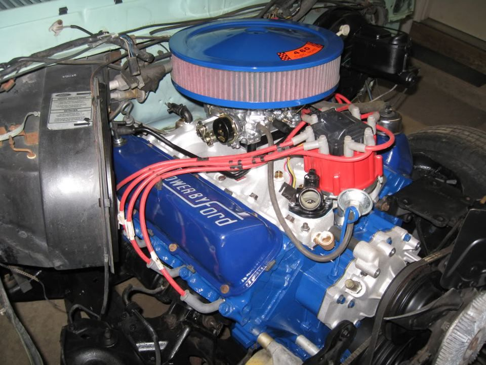 Ford 460 classics pinterest ford engine and cars for Outboard motor salvage yard