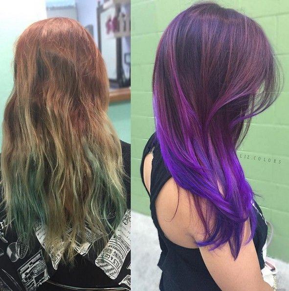 20 Purple Ombre Hair Color Ideas Ombre Hair Color Balayage Hair