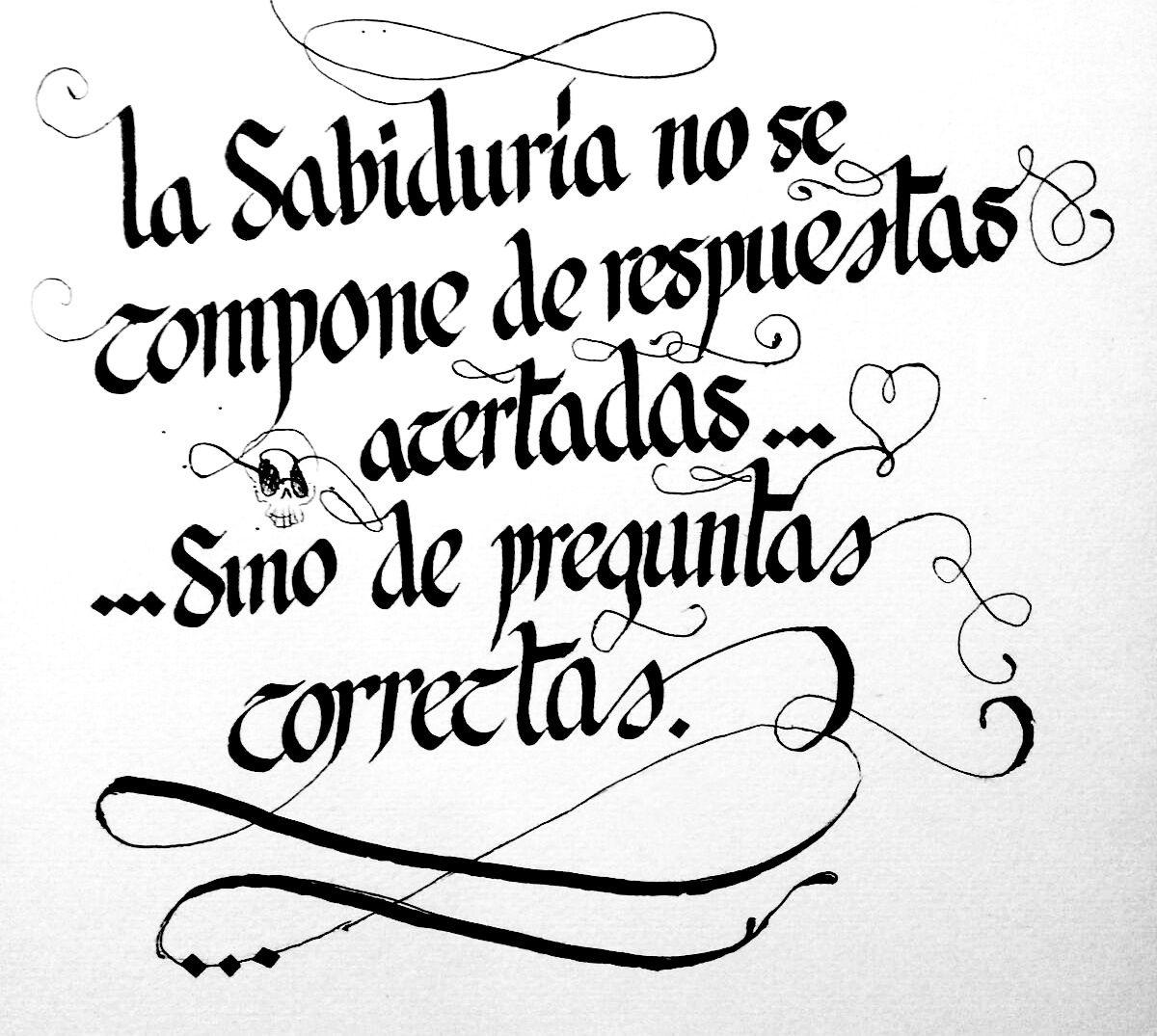Caligrafía. frases motivadoras #366 #caligraffiti #caligrafia #frase #motivacion #arte #preguntas #respuestas