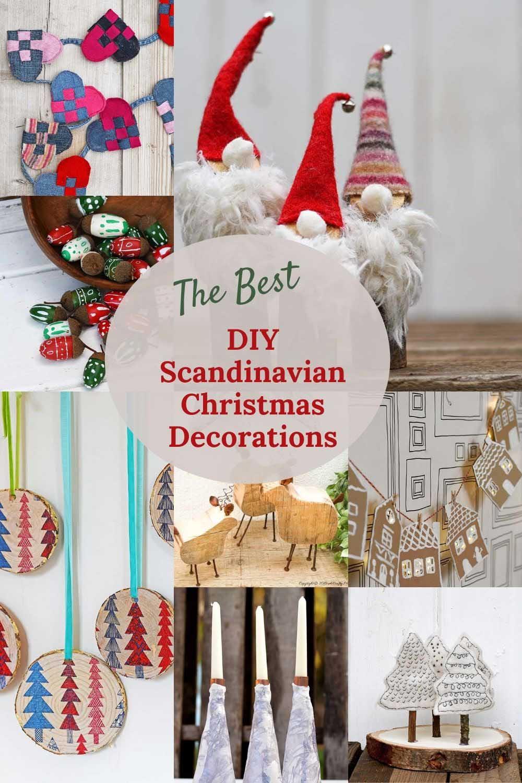 The Best Diy Scandinavian Christmas Decorations In 2020 Scandinavian Christmas Scandinavian Christmas Decorations Christmas Crafts Diy