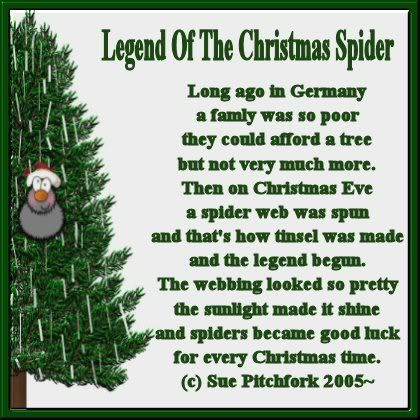 Re: Christmas Spider Legend -- jacksmum, 23:50:43 10/18/05 Tue [1 ...