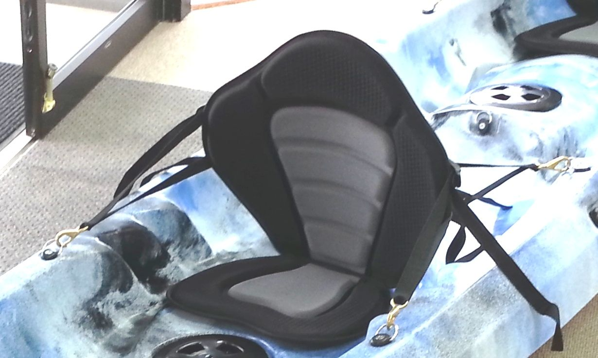 Deluxe seat cushion.... KayakityYak, the exclusive