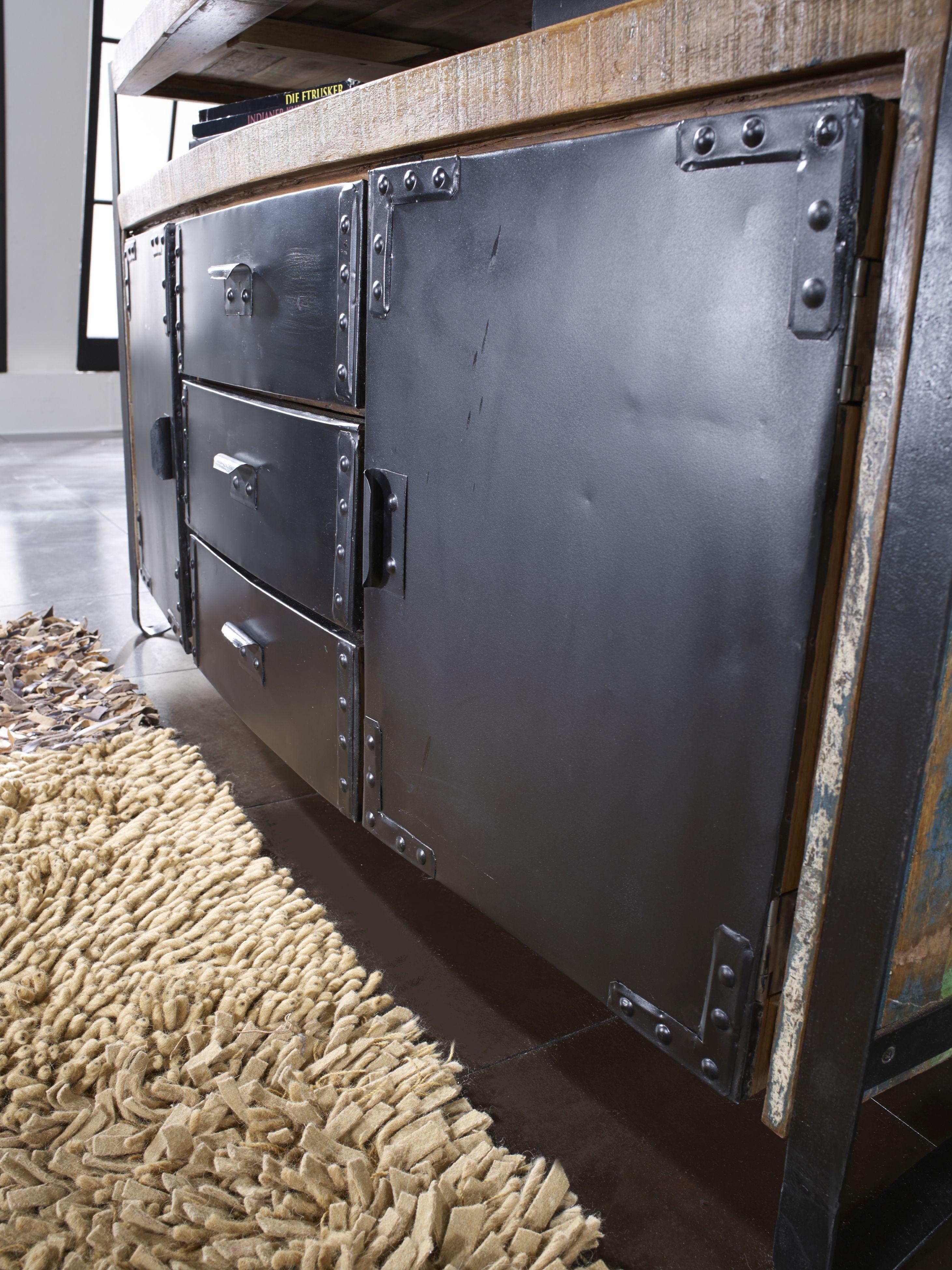 Industrial Möbel Versandfrei Kaufen Altholz Sideboard