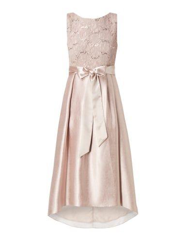 CHRISTIAN-BERG-COCKTAIL Abendkleid mit Oberteil aus Spitze in Weiß ...