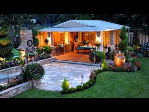 Dise o de jardines modernos hd 3d best garden design - Diseno jardines y exteriores 3d ...