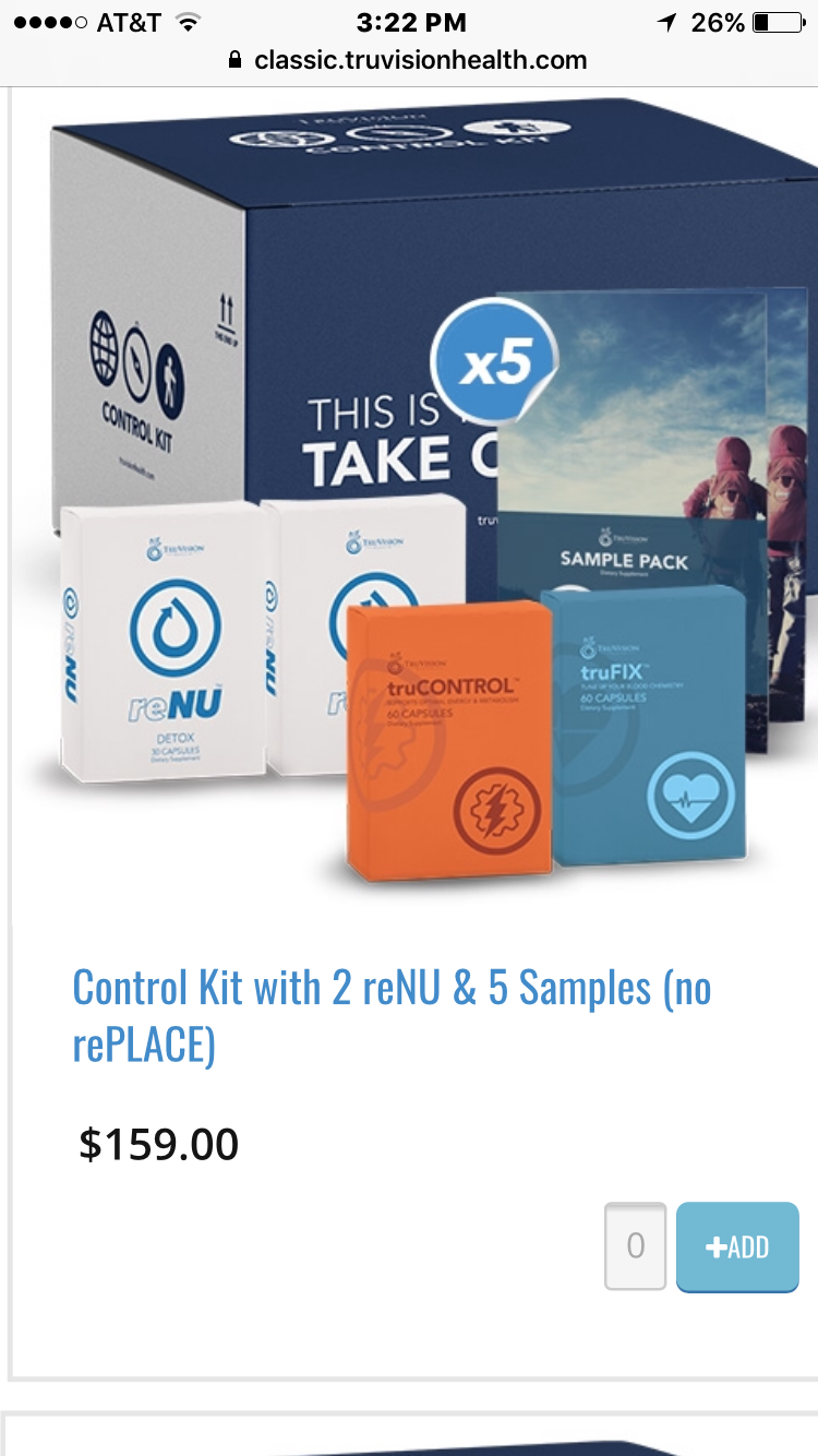 Control kits only $159!!!